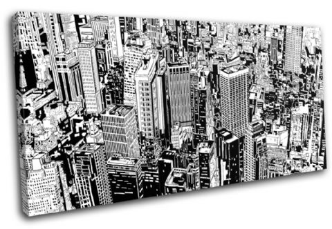 Cityscape Abstract Illustration - 13-0462(00B)-SG21-LO